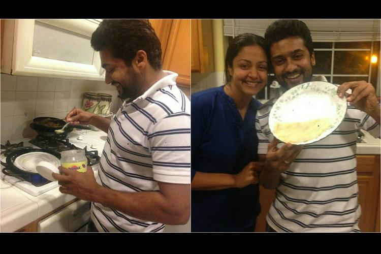 Suriya takes up dosa challenge for Magalir Mattum but will this go beyond a kitchen cameo