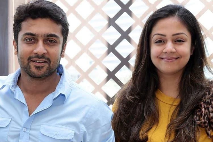Never made him a cup of coffee but he doesnt expect me to Couple goals from Suriya-Jyothika