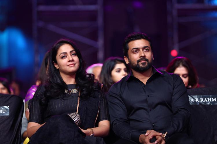Suriya stands by Jyothika in donation row says humanity is beyond religion