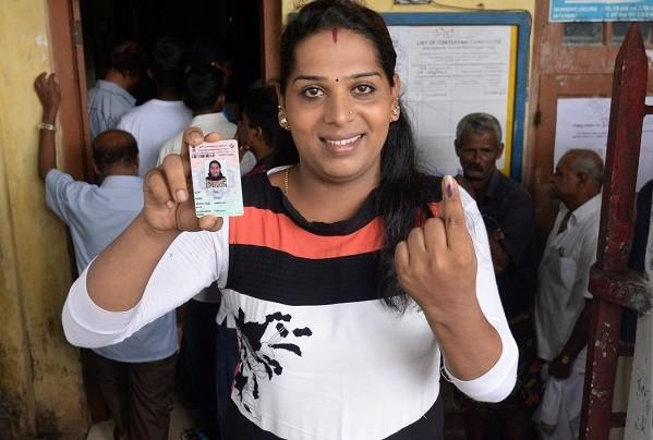 A moment of pride transgender persons vote in assembly elections 2016
