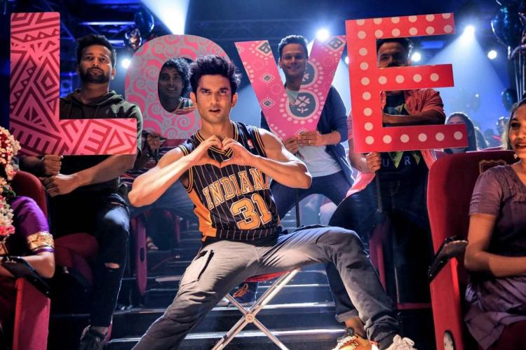 Sushant Singh Rajput in his last film Dil Becharas song
