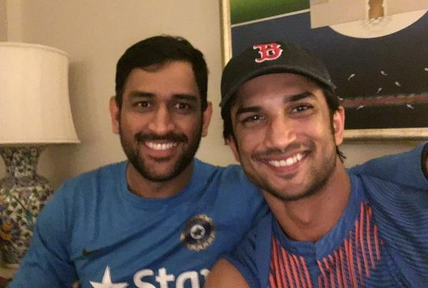 When Sushant had fan moment with Dhoni