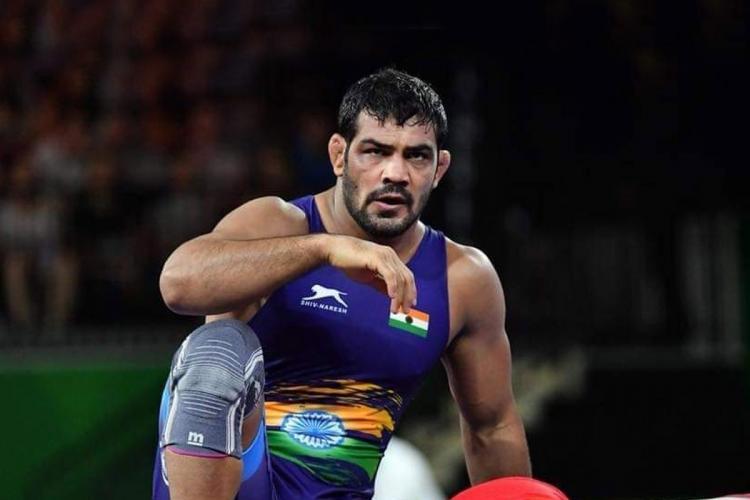 File image of two-time Olympic medallist wrestler Sushil Kumar