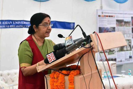 Rohith Vemula wasnt a Dalit allegations baseless says Sushma Swaraj