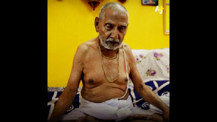 No sex or spices only yoga Indias oldest man ever on the secret of his youthfulness