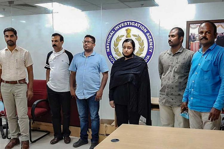 Gold smuggling case accused Swapna and Sandeep brought back to Kochi and is remanded