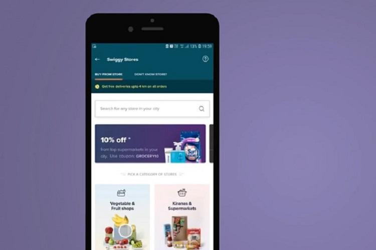 Swiggy takes on Dunzo launches Swiggy Stores to deliver groceries and more