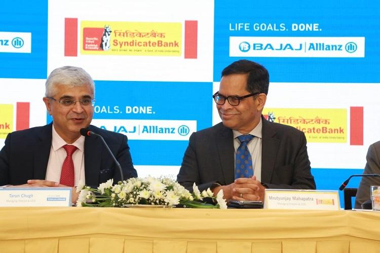 Syndicate Bank partners with Bajaj Allianz to offer life insurance solutions