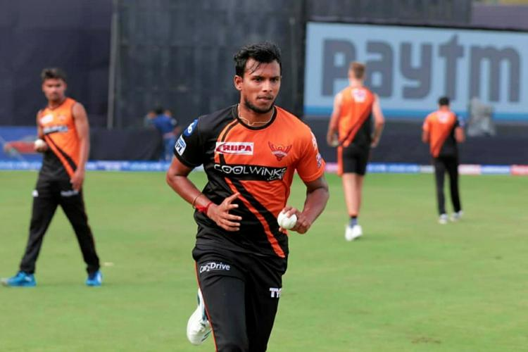 The rise of 'yorker' king T Natarajan who's shining bright for SRH | The  News Minute