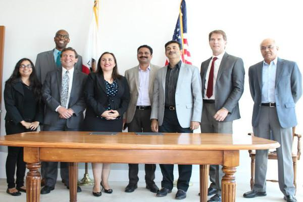 Telangana govt signs MoU with California state to work together in various sectors