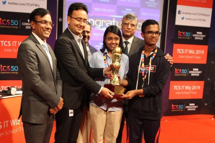 Presidency School RT Nagar wins Bengaluru edition of TCS IT Wiz 2019