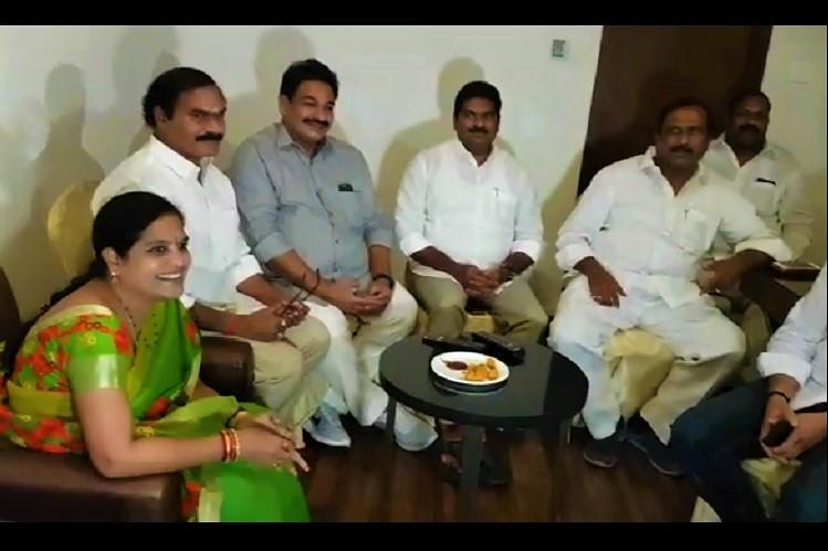Even as TDP MPs defect to BJP partys Kapu leaders meet in Kakinada to decide future