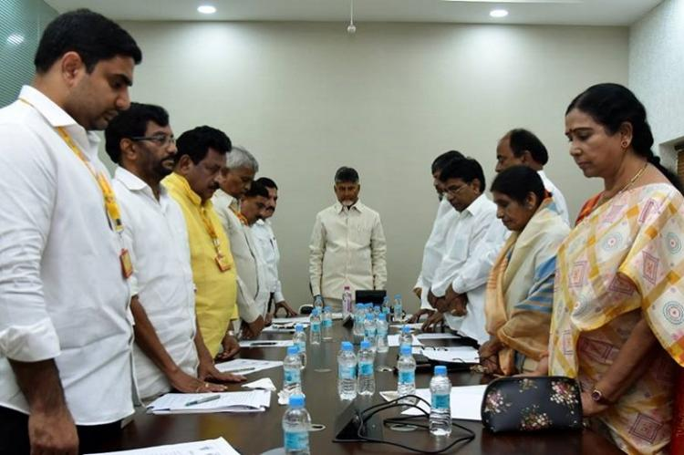 Andhra CM Naidu condemns Pulwama attack announces Rs 5 lakh each to kin of troopers