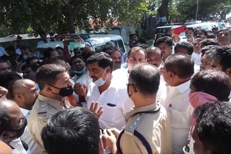 Tension in Andhras Chittoor as TDP and YSRCP workers clash