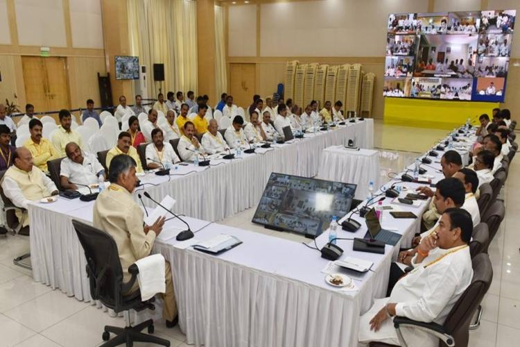 Is the TDP pushing for ballot papers over EVMs for future elections