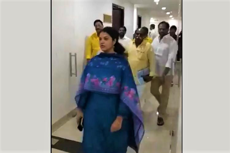 Ruckus in Andhra Assembly over Amaravati TDP MLAs stage walkout