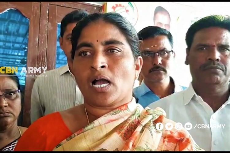TDP woman held for alleged derogatory remarks on YSRCP Min in Andhra triggers row