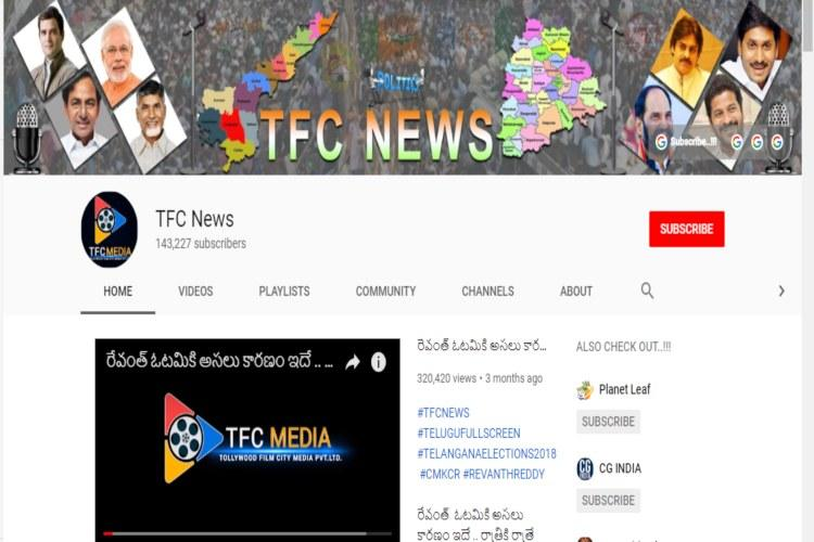 Telangana police book YouTube channels for fake news on elections