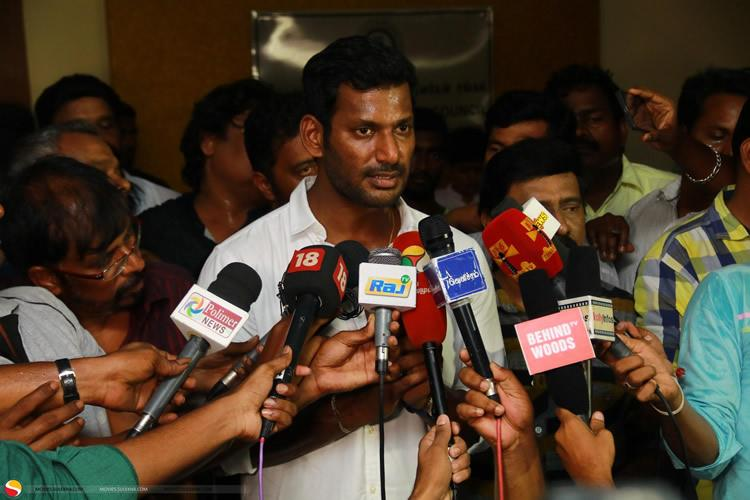 Complaint against Vishal for fund misuse by group of producers led by S Ve Shekher