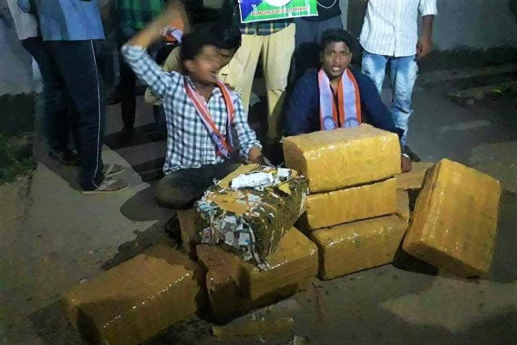 Telangana students find 100kg ganja in boys hostel police suspect wardens role