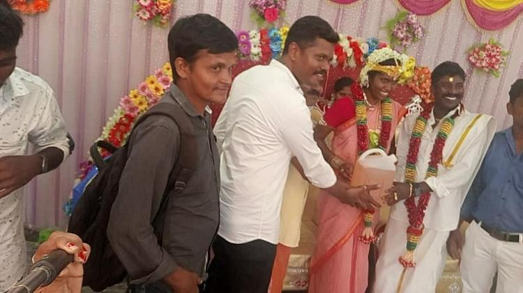 Friends give newly married TN couple