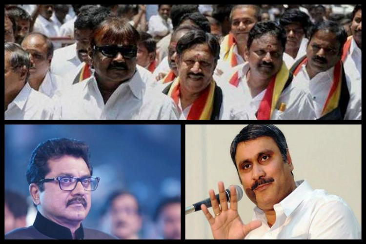 The star losers of Tamil Nadu Party leaders who could not win their own seat