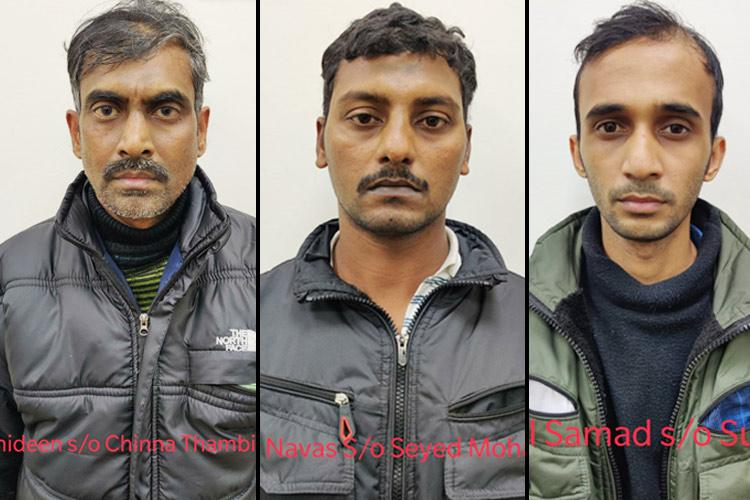 Three terror suspects from TN who allegedly wanted to revive ISIS network arrested