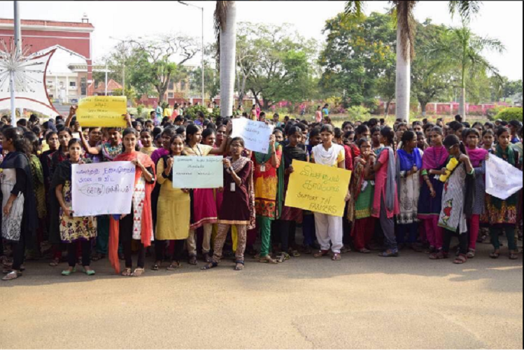 TN Agri University shuts indefinitely after students hold protests in support of farmers