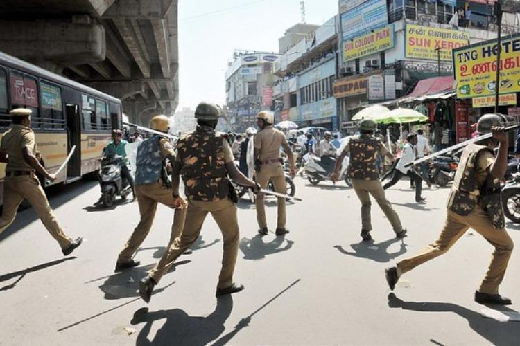 TN senior cop suspended for custodial violence irregularities in filing FIR