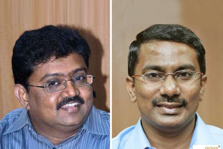 IAS officers Udhayachandran and Umanath who have been appointed as secretaries to Chief Minister Mk Stalin