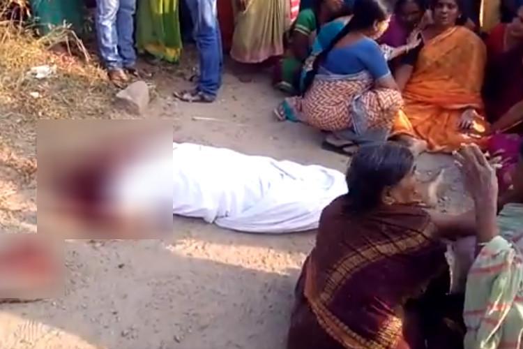 TRS leader Phirangi Narayana stoned to death Telanganas Sultanpur village tense