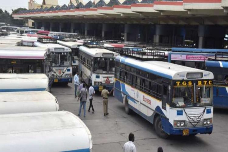 The TSRTC had locked horns with the APSRTC over parity which was resolved on Monday
