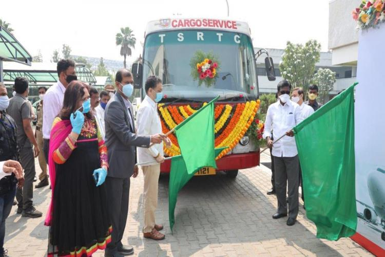 TSRTC inks deal with Hyderabad airport for cargo delivery