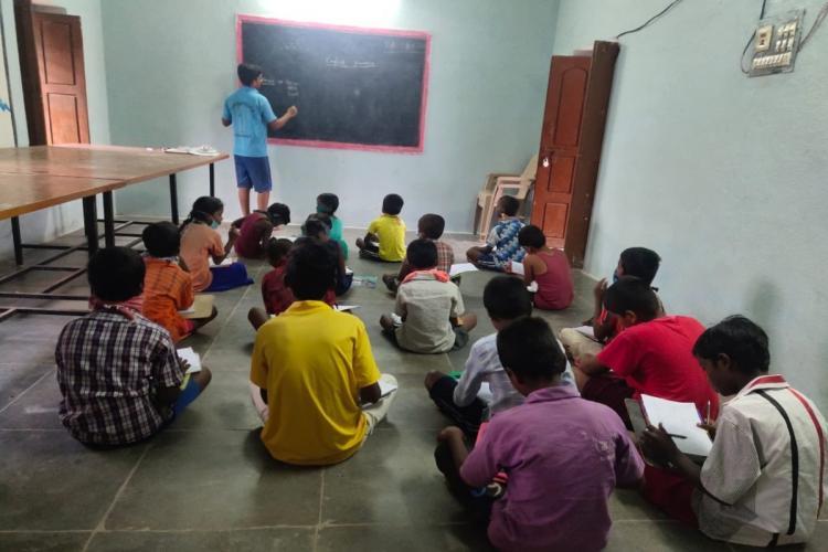 Telangana welfare students