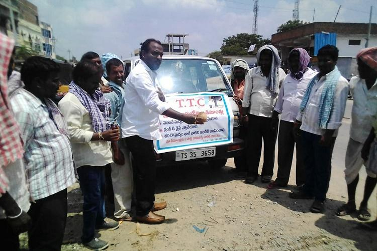 Why a politician in Telangana has started an ambulance to ferry home drunks