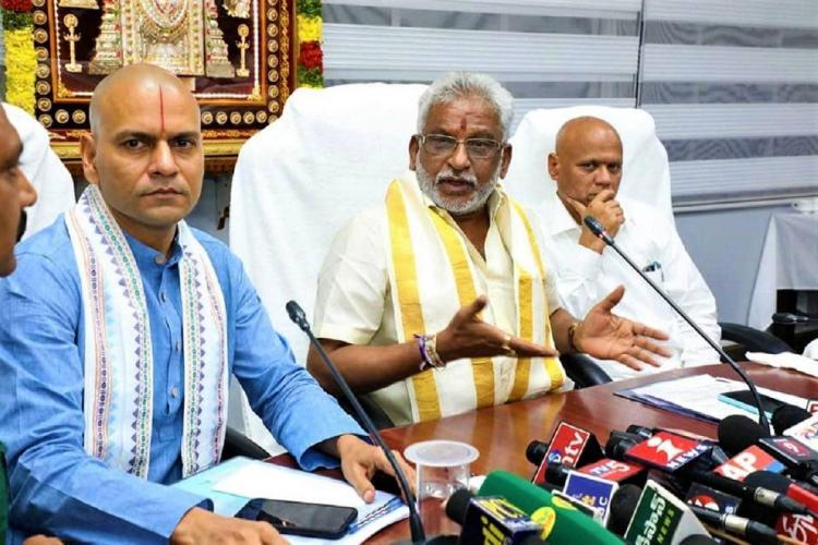 After backlash Tirumala Tirupati trust board decides not to auction any assets