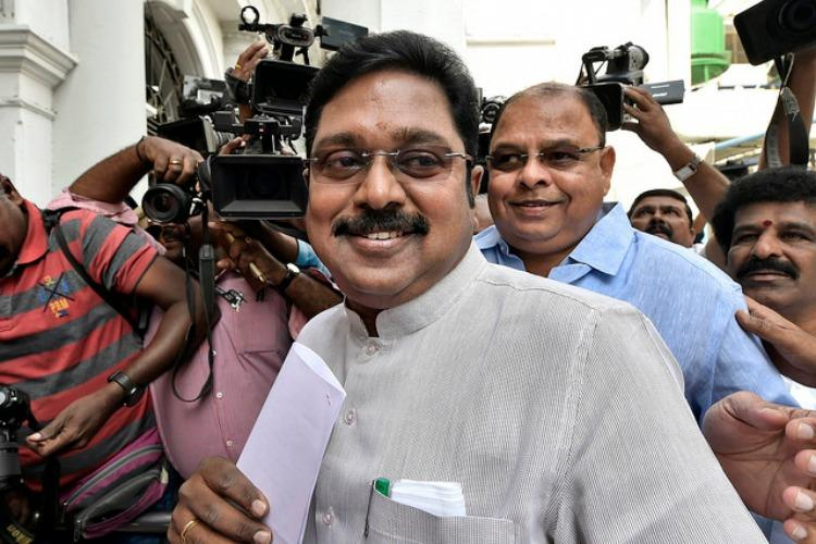 TTV Dhinakarans AMMK allotted gift pack symbol for LS polls bye-elections