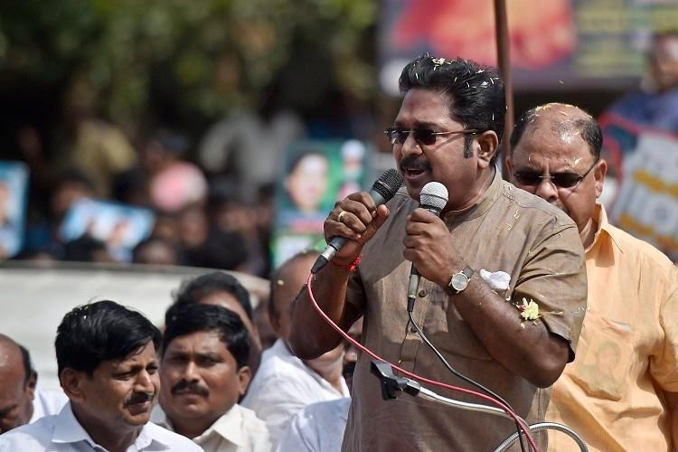 Jaya file released to divert attention from Thoothukudi TTV slams Arumugasamy panel