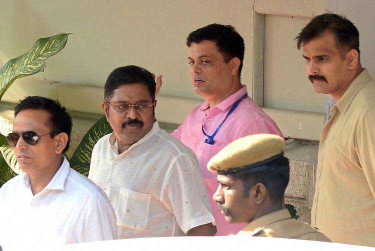 No EC official identified by police no fear TTV will abscond Dhinakaran gets bail