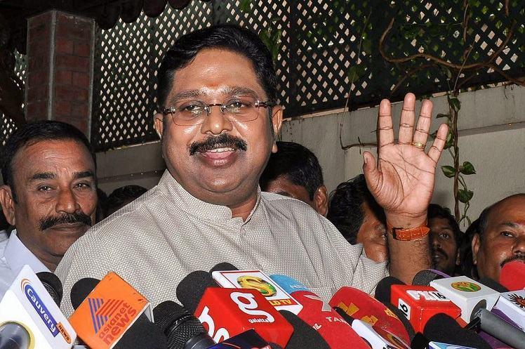After Senthil Balajis exit TTV Dhinakarans AMMK trains guns on DMK