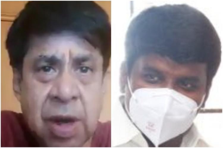 TV Varadharajan C Vijayabhaskar collage