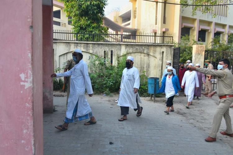 Foreign nationals from Indonesia who had attended the Tablighi Jamaat event at Markaz Nizamuddin in mid-March taken to jail