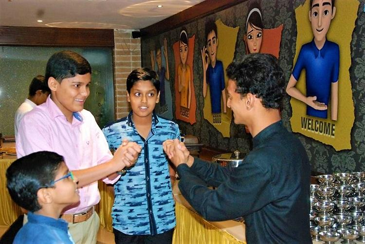 Run by the deaf this unique Hyderabad restaurant serves sign language lessons too