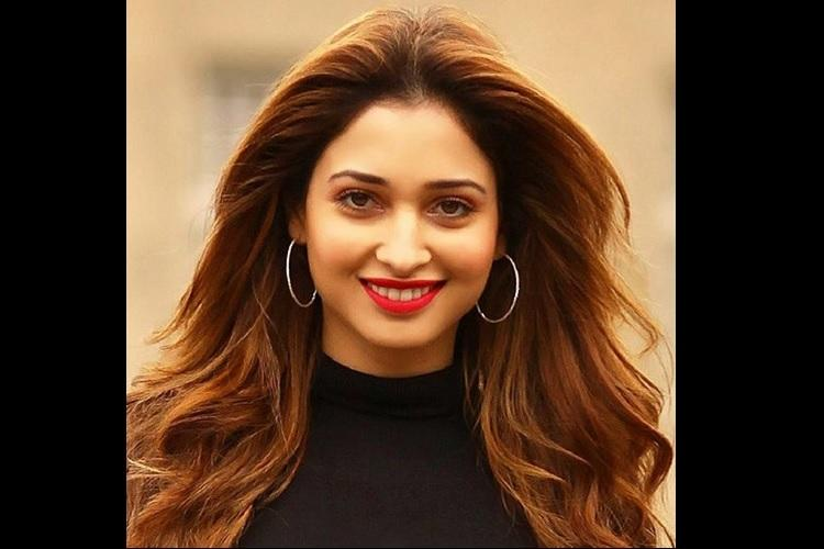 Upset fan hurls shoe at actor Tamannaah for not doing enough Telugu films