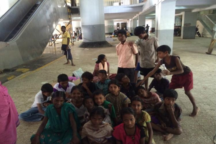 How railway stations in Chennai have turned into refugee camps