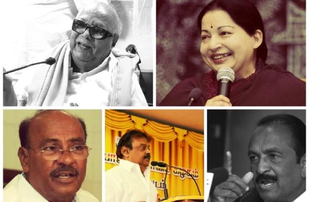 TN polls Politicians point fingers at each other allege corruption