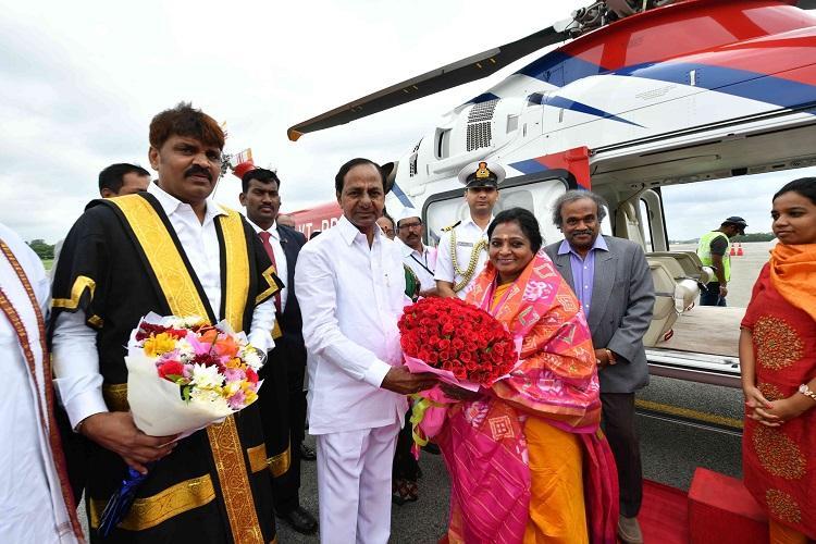 Former TN BJP chief Tamilisai Soundararajan sworn-in as Telangana Governor