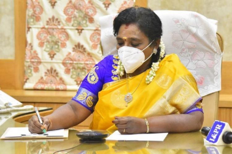 Telanagan Governor Tamilisai Soundara Rajan