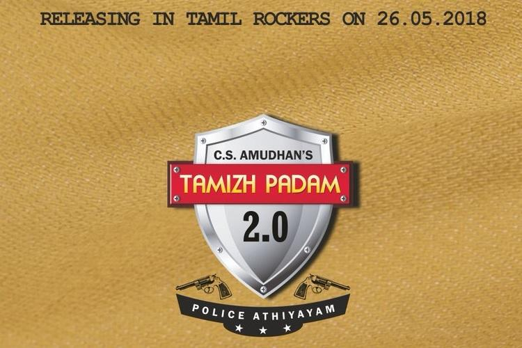 Poster for Tamizh Padam 2 out were already laughing