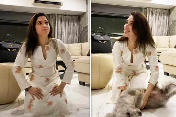 Tamannaah gets back home to Mumbai after completing quarantine